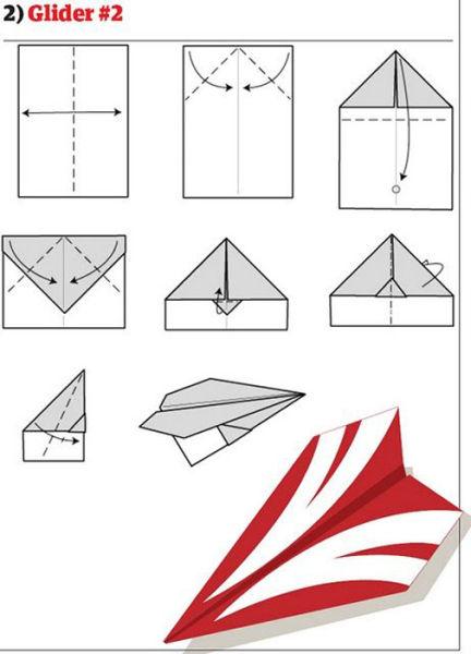 Jak udělat papírovou vlaštovku?