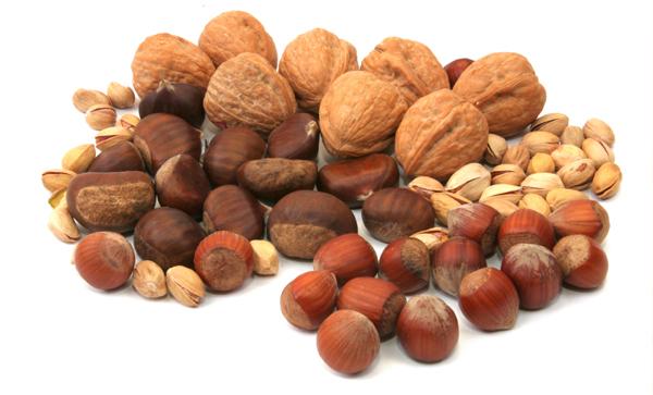 Oříšky: účinné a zdravé antioxidanty
