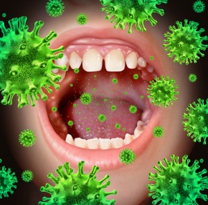 Likvidace bakterií v ústech