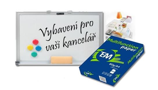Kancelářské potřeby - etikety a papír