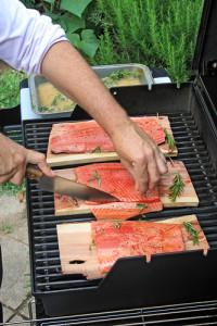 Vaření pod otevřenou oblohou - letní kuchyně