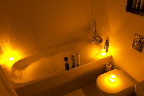 Relaxační a očistné koupele