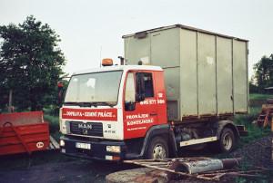 Odvoz suti ve městě Prostějov