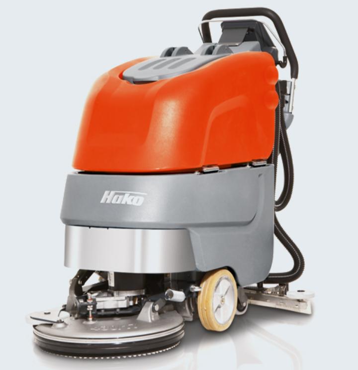 Podlahové mycí stroje Hakomatic pro efektivní úklid