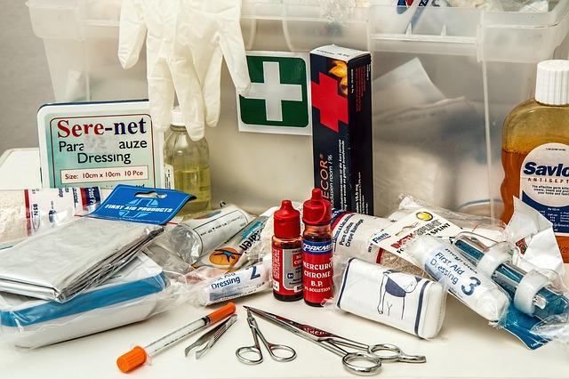 Lékárnička – důležitá výbava každé domácnosti